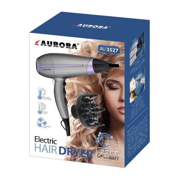 sprzęt AGD 7 alibiuro.pl Suszarka do wosw Aurora AU3527 2200W max. srebo 3