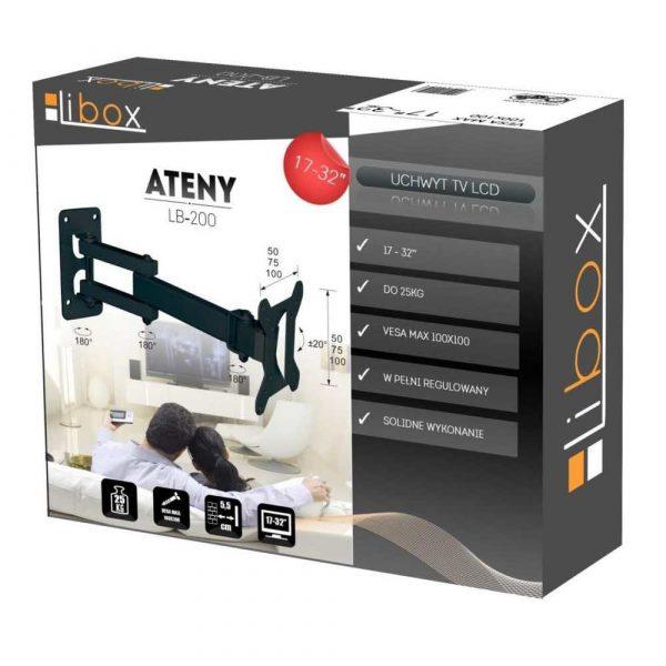 sprzęt AGD 7 alibiuro.pl Uchwyt cienny do telewizora Libox Ateny LB 200 cienne 17 Inch 32 Inch max. 25kg 27