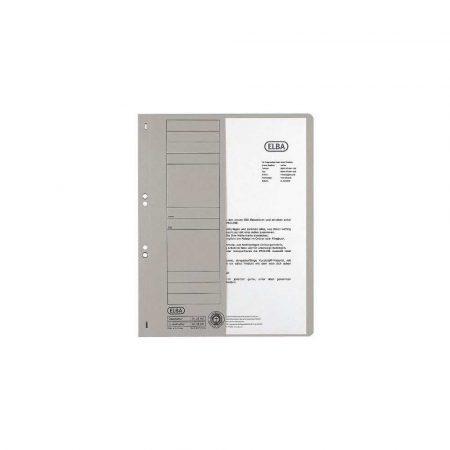 sprzęt biurowy 1 alibiuro.pl 21451 Skoroszyt oczkowy 1 2 Elba szary 100551880 81