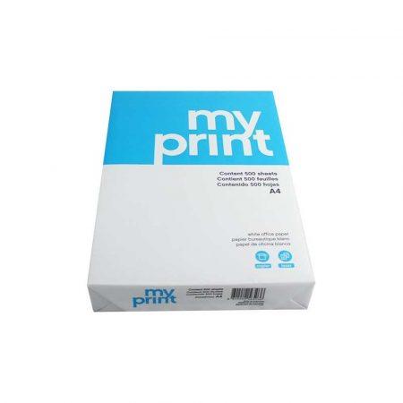 sprzęt biurowy 1 alibiuro.pl A4 MY PRINT 80 g 500 ark. papier ksero wersja podstawowa 77