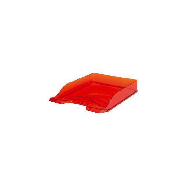 sprzęt biurowy 1 alibiuro.pl Pka na dokumenty Colors BANTEX przezroczysty czerwony 42