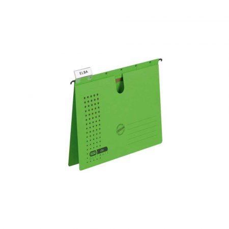 sprzęt biurowy 1 alibiuro.pl Skoroszyt zawieszkowy ELBA CHIC Ultimate A4 zielony 21