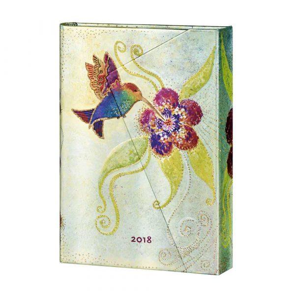 sprzęt biurowy 7 alibiuro.pl Kalendarz paperblanks 2018 Hummingbird Midi kolor biay 41