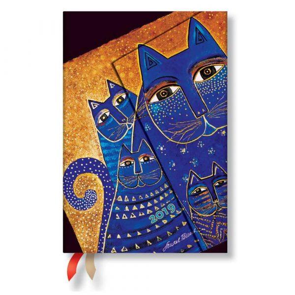 sprzęt biurowy 7 alibiuro.pl Kalendarz paperblanks 2019 Cats Mini wielokolorowy 83