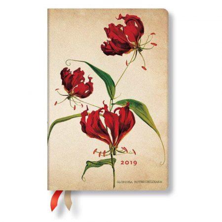 sprzęt biurowy 7 alibiuro.pl Kalendarz paperblanks 2019 Gloriosa Lily Mini kolor beowy 38