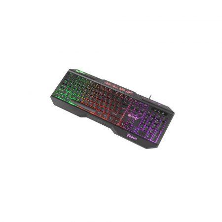 sprzęt biurowy 7 alibiuro.pl Klawiatura membranowa NATEC Fury Hellfire 2 NFU 1549 USB 2.0 US kolor czarny 4
