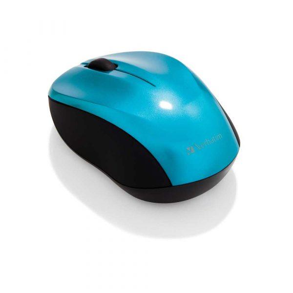 sprzęt biurowy 7 alibiuro.pl Mysz Verbatim Go Nano 49044 optyczna 1600 DPI kolor niebieski 45