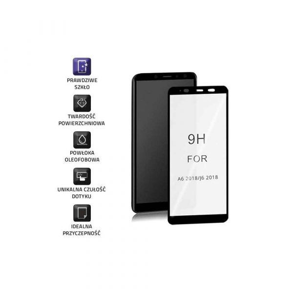 sprzęt biurowy 7 alibiuro.pl Szko ochronne hartowane Qoltec 51589 do Samsung Galaxy A6 2018 28