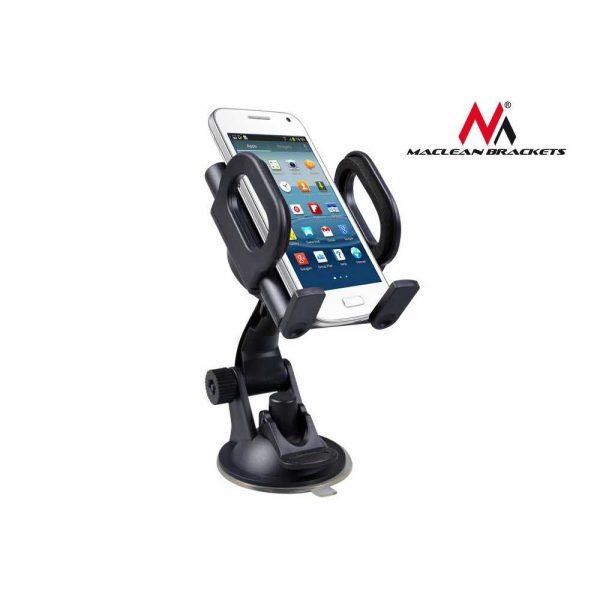sprzęt biurowy 7 alibiuro.pl Uchwyt samochodowy do smartfona Maclean MC 659 kolor czarny 10