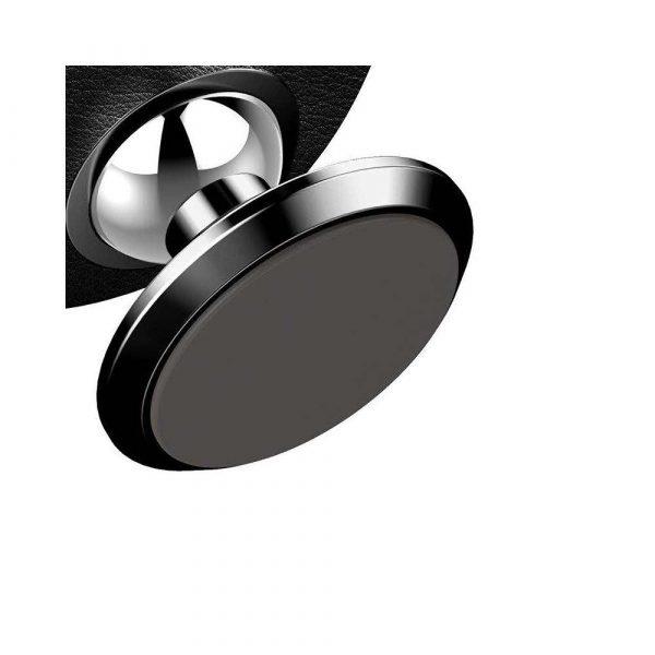 sprzęt biurowy 7 alibiuro.pl Uchwyt samochodowy magnetyczny do deski rozdzielczej Baseus Small Ears SUER F01 kolor czarny 2