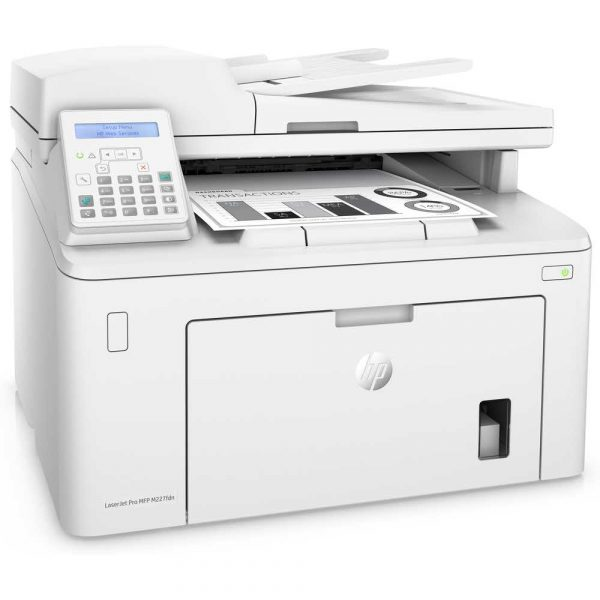 sprzęt biurowy 7 alibiuro.pl Urzdzenie wielofunkcyjne HP Laserjet Pro M227FDN MFP G3Q79A laserowe A4 Skaner paski 96