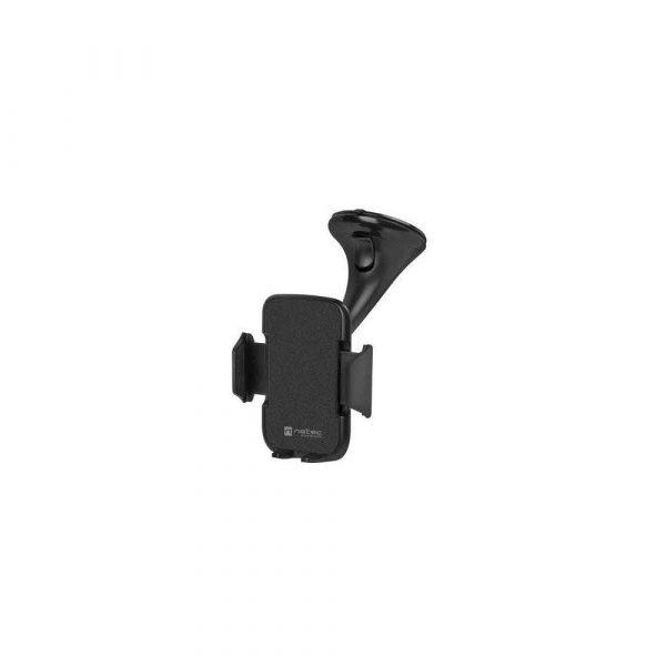 stojaki uchyty stoliki 7 alibiuro.pl Uchwyt samochodowy do smartfona NATEC Monti 360 NKP 1560 kolor czarny 8