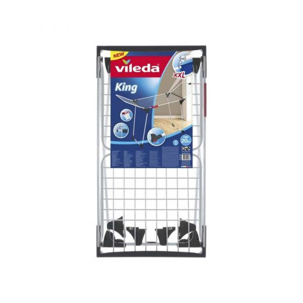 suszarki łazienkowe 7 alibiuro.pl Suszarka na pranie VILEDA King 157247 wewntrzna stojca kolor biay 0