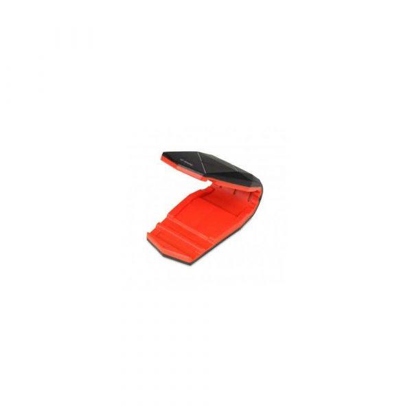 tablice i prezentacja 7 alibiuro.pl Uchwyt samochodowy IBOX H4 ALLIGATOR BLACK RED ICH4R kolor czarny 66