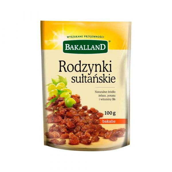 talarki 7 alibiuro.pl Rodzynki sutaskie Bakalland 100g 21