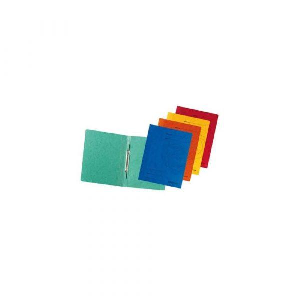 teczka biurowa 1 alibiuro.pl 1090 Skoroszyt A4 kartonowy z sprynk Herlitz zielony 36