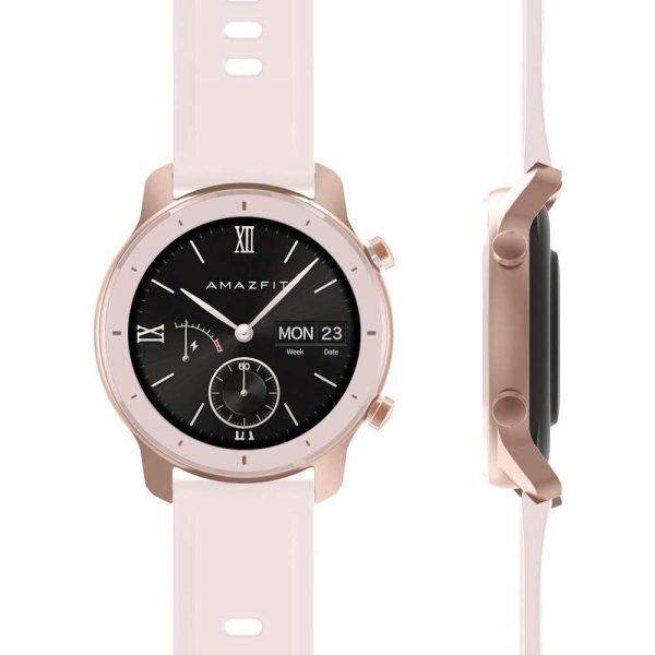 telefony 7 alibiuro.pl Smartwatch Huami Amazfit GTR 42mm Starry Cherry Blossom Pink 39