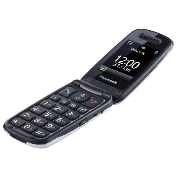 telefony komórkowe 7 alibiuro.pl Telefon komrkowy Panasonic KX TU456EXWE 2 4 Inch LCD TFT Single SIM 2G Biay 66
