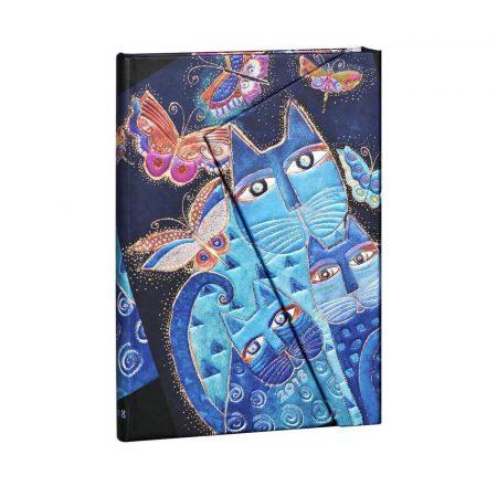 terminarz 7 alibiuro.pl Kalendarz paperblanks 2018 Blue Cats Butterflies Midi kolor niebieski 8