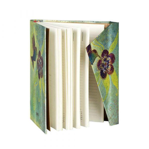 terminarze 7 alibiuro.pl Kalendarz paperblanks 2018 Hummingbird Midi kolor biay 16