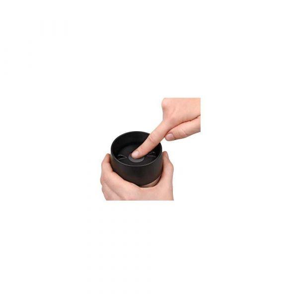 termosy i kubki termiczne 7 alibiuro.pl Kubek termiczny Tefal Travel Mug K3081114 360 ml Stal nierdzewna Tworzywo sztuczne kolor czarny 62