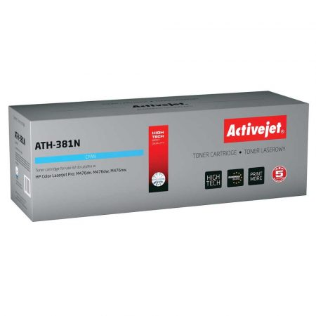 tonery HP 7 alibiuro.pl Toner Activejet ATH 381N zamiennik HP 312A CF381A Supreme 2700 stron niebieski 30
