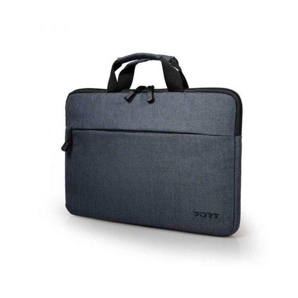 torby i plecaki 7 alibiuro.pl Torba na laptopa PORT DESIGNS Belize 110200 Top Load 15 6 Inch kolor szary 6