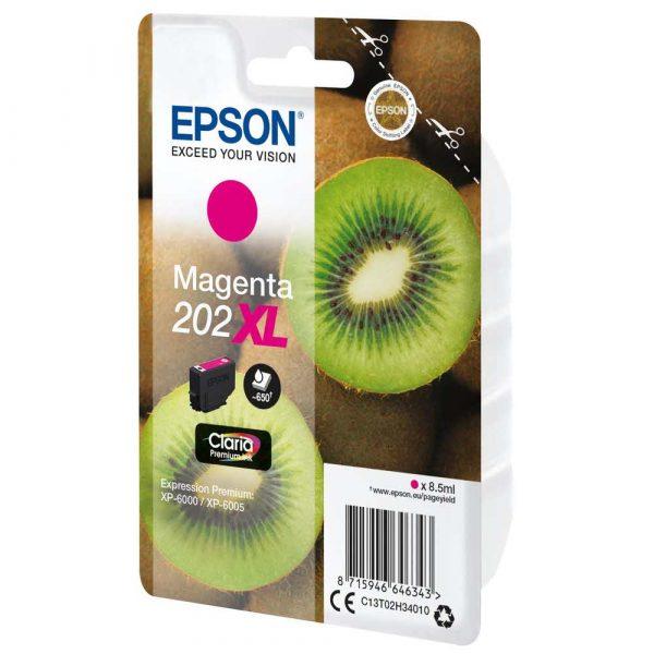 tusze epson 7 alibiuro.pl Epson Tusz magenta 202XL T02H34 C13T02H34010 46