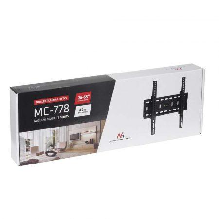 uchwyty do telewizorów 7 alibiuro.pl Uchwyt cienny do telewizora Maclean MC 778 cienne Uchylny 26 Inch 55 Inch max. 45kg 43
