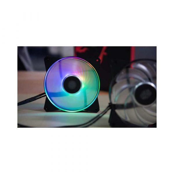 wentylatory 7 alibiuro.pl Wentylator do obudowy Cooler Master Masterfan 120R ARGB R4 120R 20PC R1 120 mm 2000 obr min ARGB 55