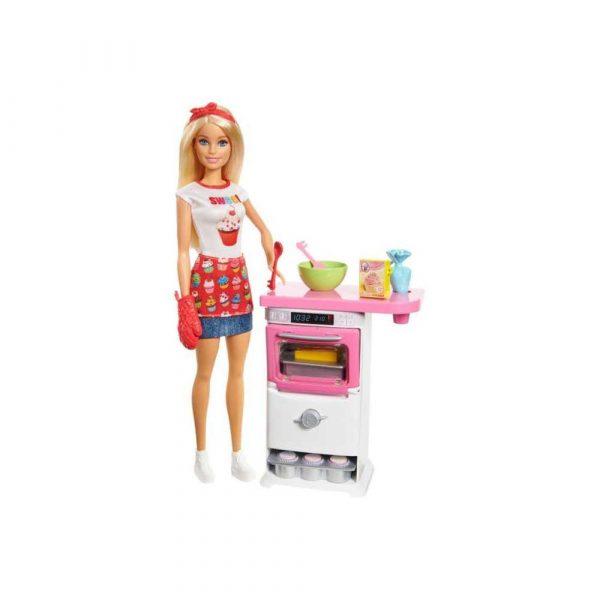 zabawki 7 alibiuro.pl Barbie zestaw domowe wypieki MATTEL FHP57 Od 3 lat 50