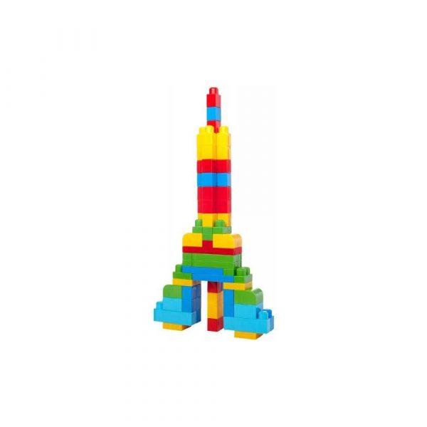 zabawki naukowe 7 alibiuro.pl Zestaw klockw 80 elementw torba First Builders Fisher Price CYP72 Od 12 miesicy 82