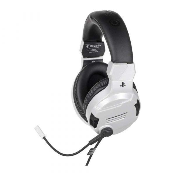 zaopatrzenie dla biura 7 alibiuro.pl BIG BEN Stereo Gaming Headset do PS4 biay 32
