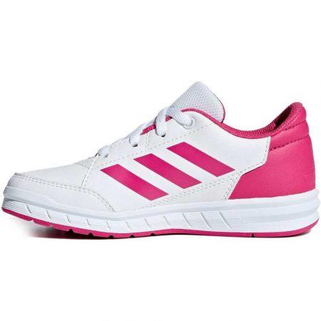 zaopatrzenie dla biura 7 alibiuro.pl Buty dla dzieci adidas AltaSport K bialo rowe D96 41