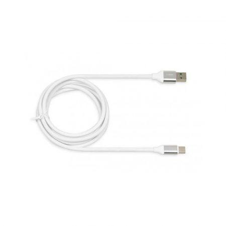 zaopatrzenie dla biura 7 alibiuro.pl Kabel IBOX IKUMTCWQC USB 2.0 typu A USB typu C 1 5m kolor biay 58