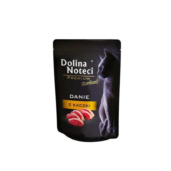 zaopatrzenie dla biura 7 alibiuro.pl Karma DOLINA NOTECI Danie z kaczki koty sterilizowane 0 08 kg 80