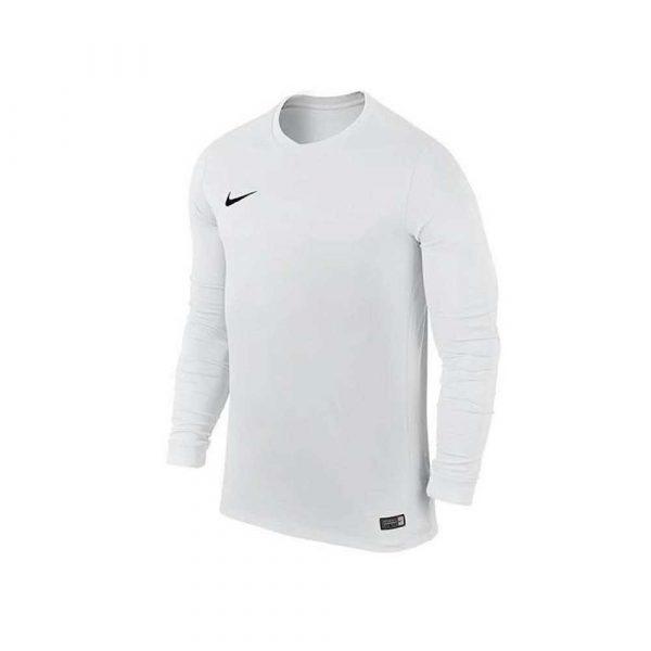 zaopatrzenie dla biura 7 alibiuro.pl Koszulka Nike Park VI JSY LS JUNIOR biala 725970 10 58