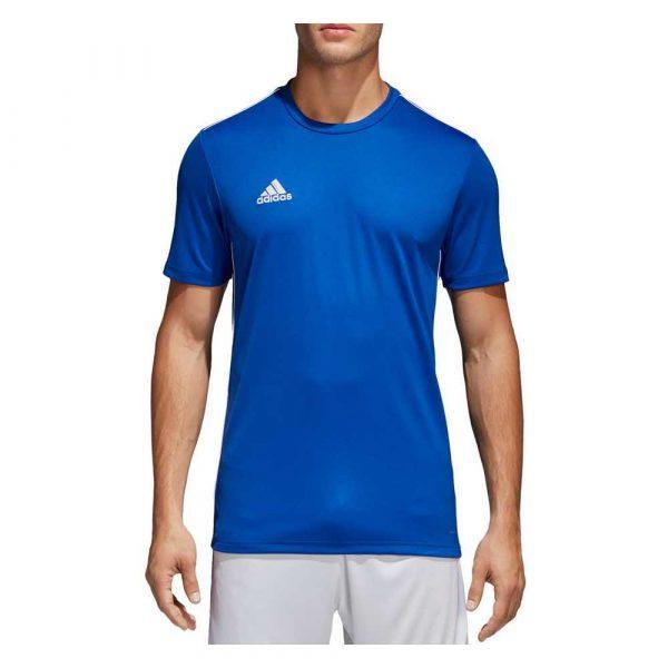 zaopatrzenie dla biura 7 alibiuro.pl Koszulka mska adidas Core 18 Training niebieska CV 32