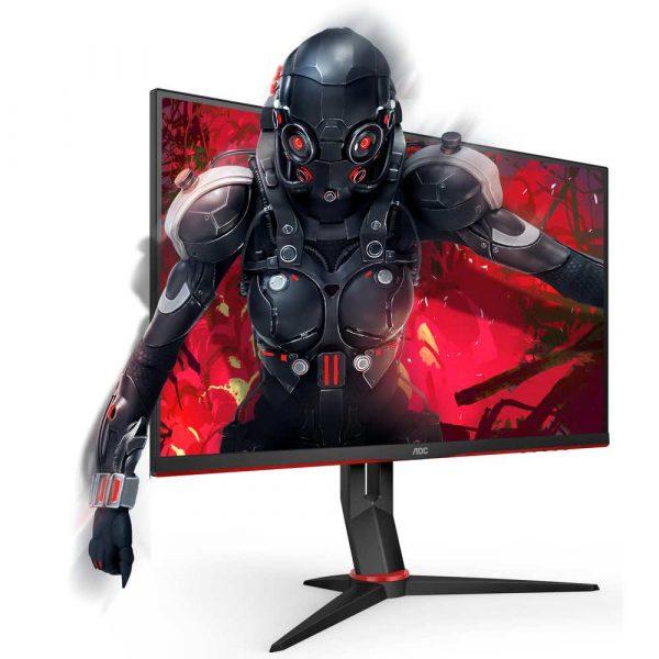 zaopatrzenie dla biura 7 alibiuro.pl Monitor AOC 24G2U5 BK 23 8 Inch IPS FullHD 1920x1080 DisplayPort HDMI kolor czarny 70