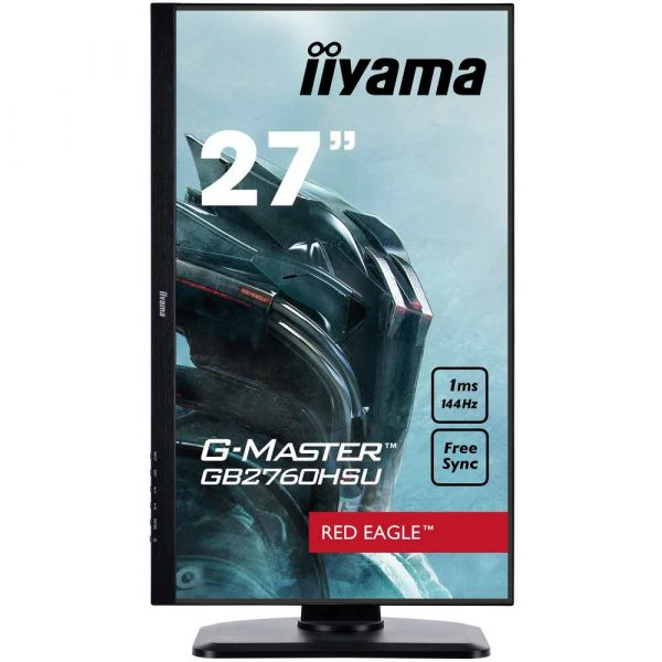 zaopatrzenie dla biura 7 alibiuro.pl Monitor IIYAMA G Master Red Eagle GB2760HSU B1 27 Inch TN FullHD 1920x1080 DisplayPort HDMI kolor czarny 19