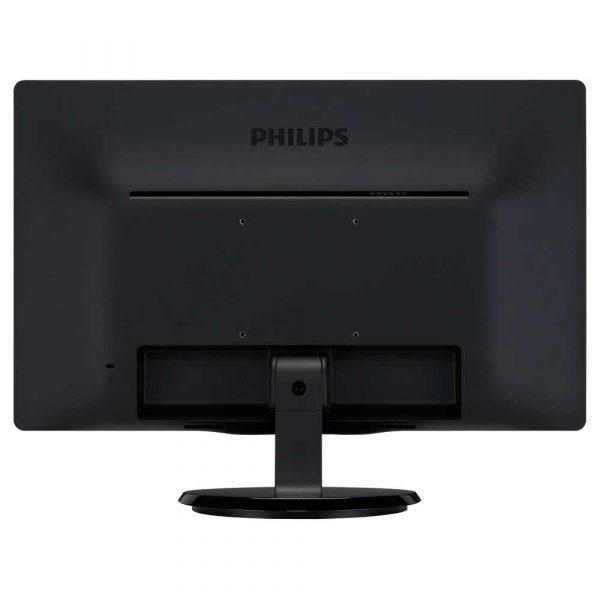 zaopatrzenie dla biura 7 alibiuro.pl Monitor Philips 200V4QSBR 00 19 5 Inch MVA FullHD 1920x1080 VGA kolor czarny 86