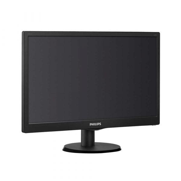 zaopatrzenie dla biura 7 alibiuro.pl Monitor Philips 203V5LSB26 10 19 5 Inch TN 1600x900 VGA kolor czarny 63