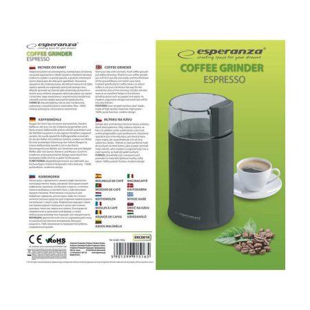 zaopatrzenie dla biura 7 alibiuro.pl Mynek do kawy Esperanza Espresso EKC001K 160W udarowy kolor czarny 93