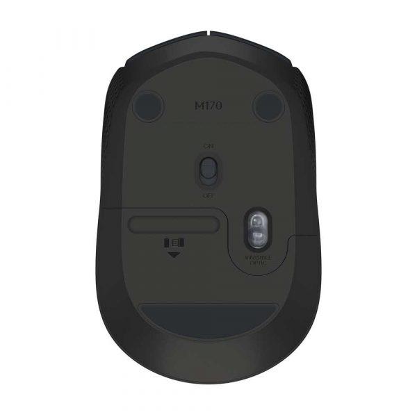 zaopatrzenie dla biura 7 alibiuro.pl Mysz Logitech B170 910 004798 optyczna 1000 DPI kolor czarny 6