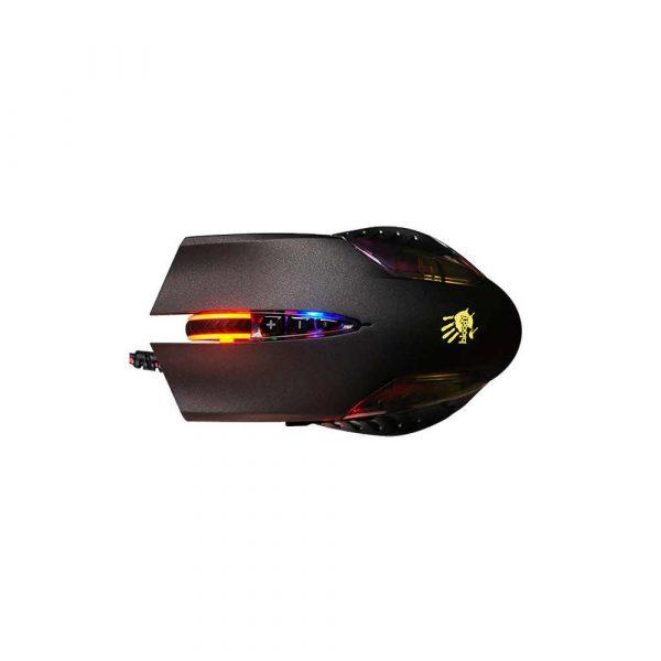 zaopatrzenie dla biura 7 alibiuro.pl Mysz komputerowa A4 TECH Bloody Q50 A4TMYS45999 optyczna 3200 DPI kolor czarny 26