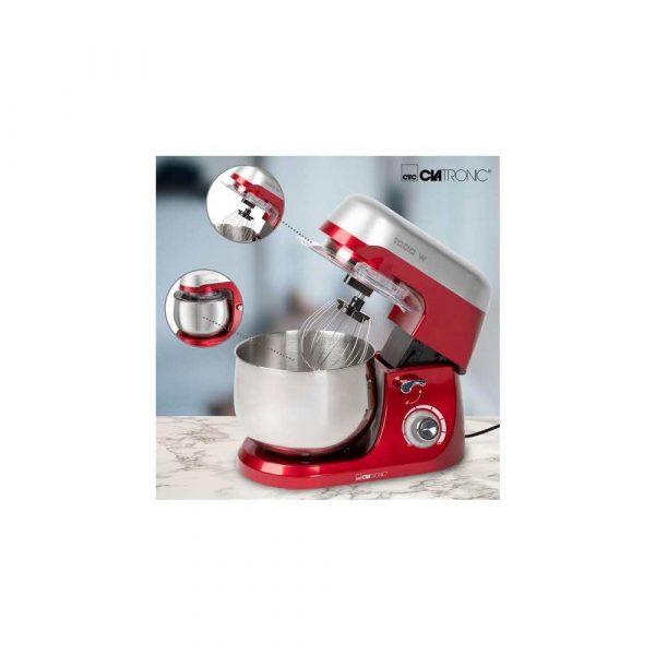 zaopatrzenie dla biura 7 alibiuro.pl Robot kuchenny Clatronic KM 3709 1000W czerwony 58