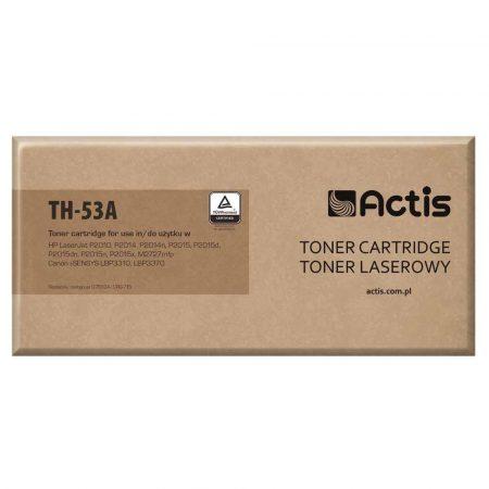 zaopatrzenie dla biura 7 alibiuro.pl Toner ACTIS TH 53A zamiennik HP 53A Q7553A Canon CRG 715 Standard 3000 stron czarny 70