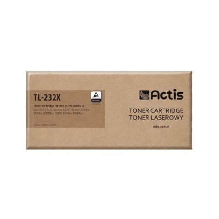 zaopatrzenie dla biura 7 alibiuro.pl Toner ACTIS TL 232X zamiennik Lexmark 24016SE 34016SE Standard 6000 stron czarny 45