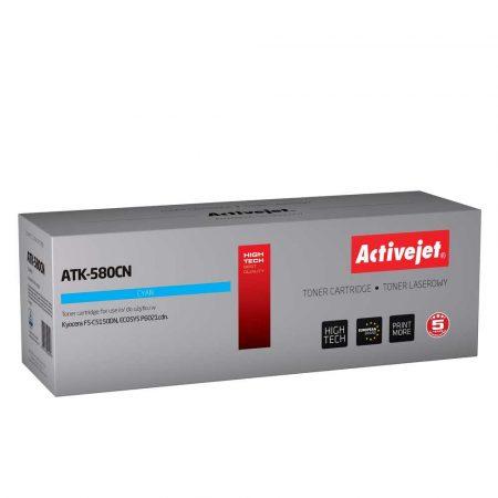 zaopatrzenie dla biura 7 alibiuro.pl Toner Activejet ATK 580CN zamiennik Kyocera TK 580C Supreme 2800 stron niebieski 99