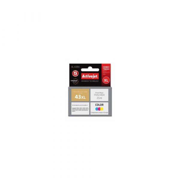zaopatrzenie dla biura 7 alibiuro.pl Tusz Activejet AL 43RX zamiennik Lexmark 43XL 18YX143E Premium 21 ml kolor 38